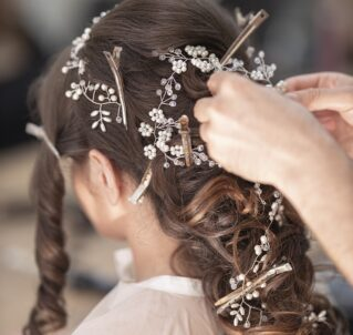bridal, hairdresser, hair